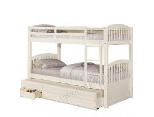 Giường 3 tầng NH-179 (trắng)