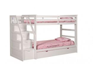 Giường 3 tầng NH-45165 (trắng)