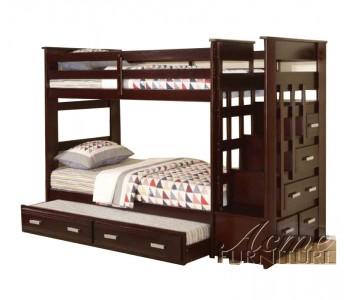 Giường 3 tầng ACME (nâu)